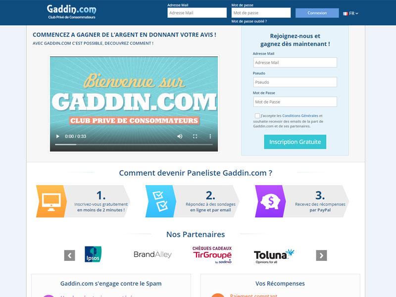 Gaddin avis : fonctionnement du site et fiabilité